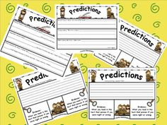 freebie - predictions during reading