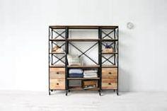 I/W Book Shelf - KR148-14: 올오브더빈티지 (all of the vintage)의 거실