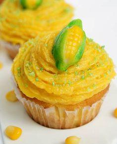 Cupcake de pamonha - em epoca de festas juninas...