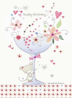 Sweet bubble blessings and bubble hugzzzzz on your birthday sent your way !!!!    Ooooooooo     ; )