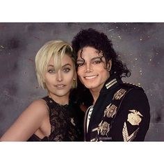 Love you, Michael and Paris Jackson