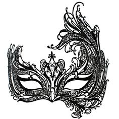 masquerade mask pattern - Google Search