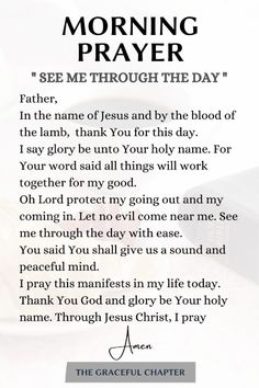 Powerful Morning Prayer, Morning Prayer Quotes, Good Morning Prayer, Morning Prayers, Good Morning Quotes, Good Morning Spiritual Quotes, Good Morning Scripture, Morning Devotion, Scripture For Today