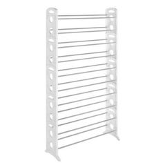 50- Pair Floor Shoe Tower-6486-1917-WHT at The Home Depot