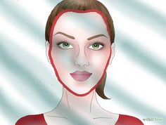 Bildtitel Determine Your Face Shape Step 3