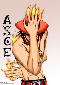 Fire Ace coloring by AnnaHiwatari on DeviantArt