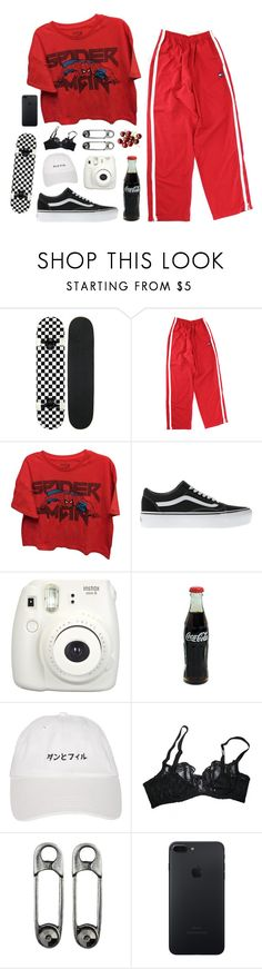 """""""Oblivion is where I'm headed, my mind is on the brink of going supernova"""" by themusiccookie ❤ liked on Polyvore featuring Marvel, Vans, Fujifilm and Agent Provocateur"""