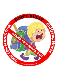 Bullied By Badge >> 31 Best No Bullying Don T Bully Anti Bullying Posters Worksheets