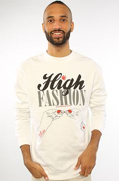The High Fashion Sweatshirt in Ash