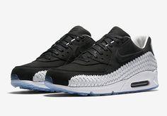 "Nike Air Max 90 Woven ""Black/White"" - EU Kicks: Sneaker Magazine"