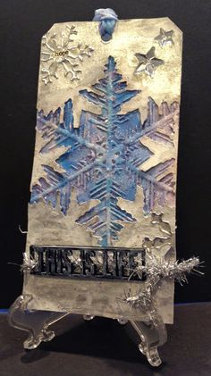 Adventures in the Fun Room: November Tim Holtz Tag