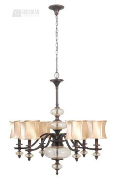 South Shore Decorating: World Imports WI854656 Chambord Transitional Chandelier WI-8546-56