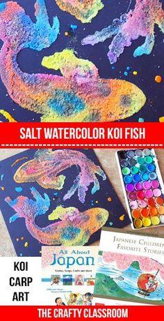 Dibujos con sal y temperas de colores. Se basa en tintar la sal de colores para despues salgan dibujos