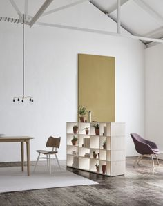 Tylko Ivy shelf as a room divider in open plan living room