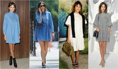 Alexa chung sukienki Alexa Chung, Kimono Top, Cover Up, Vogue, Shirt Dress, Shirts, Tops, Dresses, Women