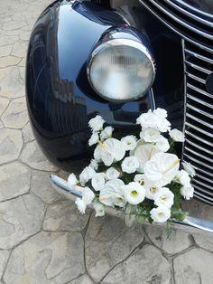 Autodeko elegant und weiß