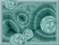 """Winter Blues"" fractal art"