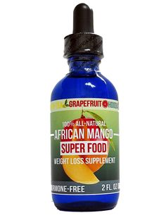 African Mango Super Food Weight Loss Supplement! 100% ALL NATURAL with Green Tea, Grapefruit, and Hoodia extract! * Review more details here : Weight loss Supplements