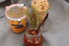 Tomaten Rosmarin Brot mit Tomatenbutter Pane al pomodoro e rosmarino con burro al pomodoro