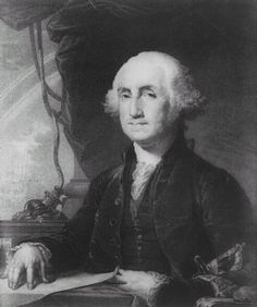 George Washington - One of the Founding Fathers of the United States, serving as the commander-in-chief of the Continental Army during the American Revolutionary War. He also presided over the convention that drafted the Constitution, which replaced the Articles of Confederation. The Constitution established the position of President of the republic, which Washington was the first to hold.