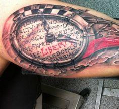 Tattoo-Foto: oben