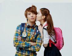 Yonghwa Seohyun Couple Photoshoot Kiddy Theme (We Got Married) Wgm Couples, Cute Couples, Photoshoot Themes, Wedding Photoshoot, Korean Variety Shows, Studio Poses, We Get Married, Seohyun, Snsd