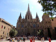 Catedral de Barcelona, en el Barrio Gótico