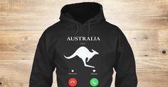 Discover Australia Is Calling I Must Go Sweatshirt from Love Australia <3, a custom product made just for you by Teespring. With world-class production and customer support, your satisfaction is guaranteed.