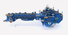 Awesome Lego, Cool Lego, Battlefleet Gothic, Spaceship Design, Warhammer Models, Bfg, Lego Architecture, Lego Stuff, Warhammer 40000