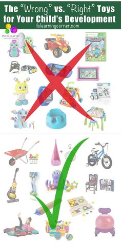 """Learning Toys: The """"Wrong"""" Toys for Holding Your Child Back and the """"Right"""" Toys for Building Your Child's Brain 