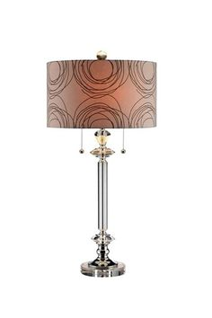 Deco Crystal Table Lamp by Bohemian Discovery on @HauteLook