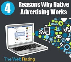 4 Reasons Why Native Advertising Works Guide Feb 2014 E-mail Marketing, Marketing Digital, Internet Marketing, Online Marketing, Business Marketing, Content Marketing, Advertising Words, Native Advertising, Free Email Templates