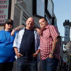 The Pawn Stars - Chumlee, Rick, & Big Hoss