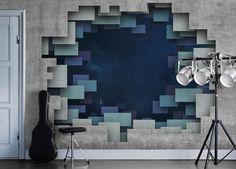 Mr Perswall, vous connaissez ? De la tapisserie au m² sur mesure avec si vous voulez la photo de votre choix !