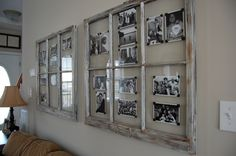 repurpose old window frames