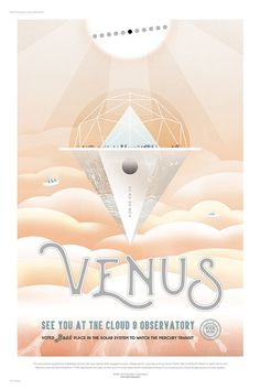 Print Collection - Venus, See You at the Cloud 9 Observatory