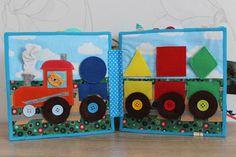Busy book Montessori Quiet book Toddler quiet by busybookIrina