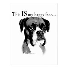 Boxer Happy Face Cloth Napkin - home gifts ideas decor special unique custom individual customized individualized Boxer And Baby, Boxer Love, Love Pet, Akc Dog Breeds, Boxer Dog Quotes, Funny Cats And Dogs, Dog Design, Design Art, Cool Pets