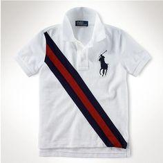 Ralph Lauren POLO Kids Shirts white