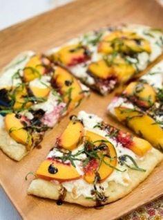 Peach Balsamic Pizza Recipe