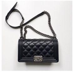 Chanel Boy Bag  http://georgiapapadon.com/