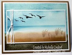 masculine high tide card by Michelle Zindorf