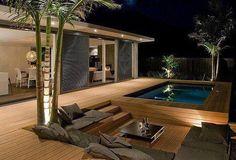 wodden terrace