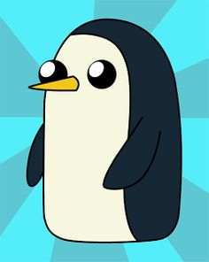 How To Draw Gunter Adventure Time