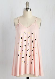 A Walk in the Spark Top. Carefree feelings firefly your way whenever you wear this graphic tank top! #pink #modcloth
