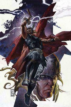 Thor •Simone Bianchi Simone Bianchi, Stan Lee, Marvel Comic Character, Marvel Characters, Fictional Characters, Marvel Comics Art, Marvel Heroes, Wolverine, Comic Books Art
