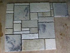 Make Castle Stone - DIY Supplies Kit + 29 Concrete Rock Molds