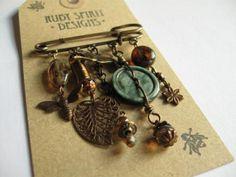 Ruby Spirit Designs kilt pin brooch