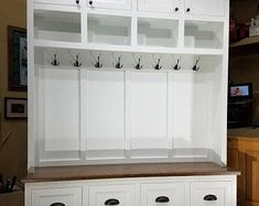 Wide Entryway Furniture, Mudroom Cabinet, Hall Tree with Bench, Coat & Hat Rack. Hall Tree Storage Bench, Cubby Bench, Hall Tree Bench, Bench With Storage, Shoe Bench, Shoe Storage Drawers, Cubby Storage, Locker Storage, Locker Furniture