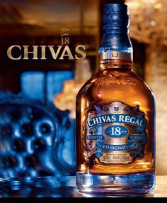 PRINT AD For 2009 Chivas Regal 18 Year Scotch At Cristal Room Baccarat, Paris Print Ad: not an offer for alcohol 1 page x Suitable for framing Cigars And Whiskey, Scotch Whiskey, Bourbon Whiskey, Alcohol Bottles, Liquor Bottles, Drink Bottles, Whisky Chivas Regal, Best Sparkling Wine, Strong Drinks